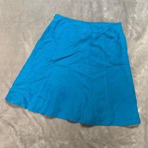Ann Taylor blue skirt